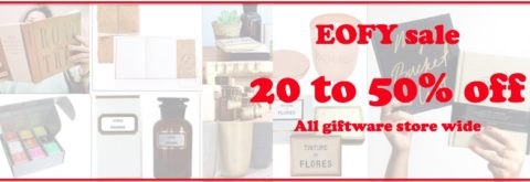 20% to 50% off Giftware Store wide