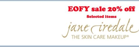 20% off Jane Iredale accessories